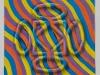 Esercizio n. 1, olio su tela, cm. 65x65, 2017