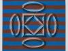 Esercizio n.4 olio su tela, cm. 65x65, 2017