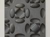 Metallico, olio su tela, cm. 40x40, 2017