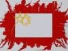 Sulla bandiera cinese,  olio su tela,  cm. 70x100,  2009