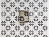 Lampada, ceramica su carta stampata, cm. 150x200, le dimensioni della carta possono variare, 2017