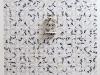 Maschera, ceramica su carta stampata cm. 150x200, le dimensioni della carta possono variare, 2017