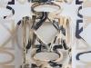 Maschera, (particolare), ceramica cm. 18x33x18, 2017