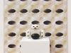 Sorella Luna, carta, ceramica, legno, cm. 215x102, le dimensioni della carta possono variare, 2017