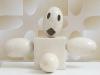 Fantasmino, (particolare), ceramica cm.36x26x20, 2017