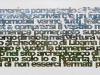 Sull'outlet,  olio su tela,  cm. 50x100,  2009
