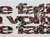 Sulla quotidianità,  olio su tela,  cm. 30x100,  2010