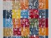 Sulle opere d'arte contemporanea,  olio su tela,  cm. 100x80,  2009