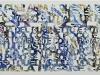 Sulla privatizzazione dell'acqua,  olio su tela,  cm. 50x100,  2010