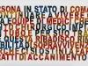 Sul testamento biologico,  olio su tela,  cm. 50x150,  2009