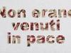 Sulle missioni di pace,  olio su tela,  cm. 30x50,  2009