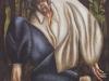 L'impiccato,   olio su tela,  cm. 125x125,  1997