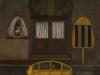 Paesaggio urbano,   olio su tela,  cm. 125x125,  1996