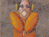 Guantanamo,   olio su tela,  cm. 40x30,  2006