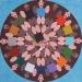 Girotondo,   acrilico su tela,  cm. 100x100,  2007