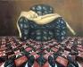 La morte di Cleopatra,  olio su tela,  cm. 80x100,  1999