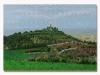 Montecastello, olio su tela, cm. 70x100, 2020