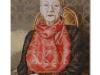 Ritratto della mamma, olio su tela cm. 60x40, 2019