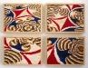 Caleidos,  olio su tela, legno,   cm. 40x56,  2005
