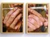 Il baffo,  olio su tela, legno,   cm. 27x82,  2005
