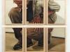 Max,  olio su tela, legno,   cm. 110x61,  2005