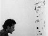 Io tappobuchi, documentazione della performance,   1994,  Studio Boetti,  Roma