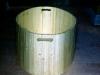 Cinque pezzi facili, (particolare),  legno,  cm. 165x82,5,  1992,  Volpaia, Radda in Chianti (SI)