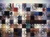 Terra- terra ( veduta d'insieme), serigrafia su supporti vari, neon,  cm. 480x840,  1992