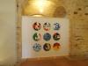 Sulle identità e sulle appartenenze. XLVIII Premio Vasto. 2015, Vasto (CH), 9 tondi, acrilico su tela cm.50 cad.