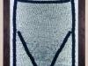 H.M. - legno, plexiglass, lana, neon - cm. 178x118x14 - 1991