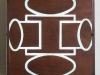 Io ho - legno, plexiglass, neon - cm. 65x65x9 - 1990