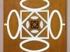 OK -   legno, plexiglass, neon -  cm. 124x124x9,5 - 1990