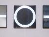 Più o meno - legno, plexiglass, specchio, ferro, neon - cm. 80x80x11,5 per elemento (trittico)  1990