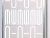 Vision - legno smaltato, plexiglass, alluminio, neon - cm. 174x87x22 - 1990
