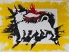 Agip,  olio su tela,  cm. 20x30,  2008
