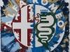 Alfa romeo,  olio su tela,  cm. 30x20,  2008