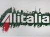 Alitalia,  olio su tela,  cm. 20x30,  2008