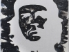 El Che,   olio su tela,  cm. 30x20,  2008