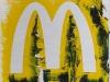Macdonalds,  olio su tela,  cm. 30x20,  2008