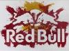 Red bull,  olio su tela,  cm. 20x30,  2008