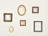Piccoli lavori su vecchie cornici, carta e legno, dimensioni variabili, 2012