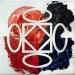-ok-logo, olio su tela, cm. 30x30, 2010