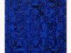 Blu notte, olio e sabbia su tela, cm. 60x40, 2021