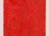 Reds S, olio e sabbia su tela, cm.30x20, 2012
