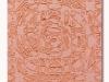 Rosa-due, olio e sabbia su tela, cm. 60x40, 2021