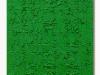 Verde, olio e sabbia su tela, cm. 60x40, 2021