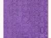 Viola, olio e sabbia su tela, cm. 60x40, 2021