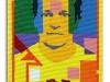 Autoritratto - Face to Face, acrilico su tela, cm. 50x30, 2018