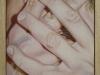 Non voleva,  olio su tela, legno, cm. 17x20,  2004