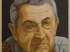 Mio padre,  olio su tela, legno, cm. 70x50,  2004